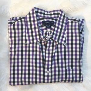 Lands ends dress shirt